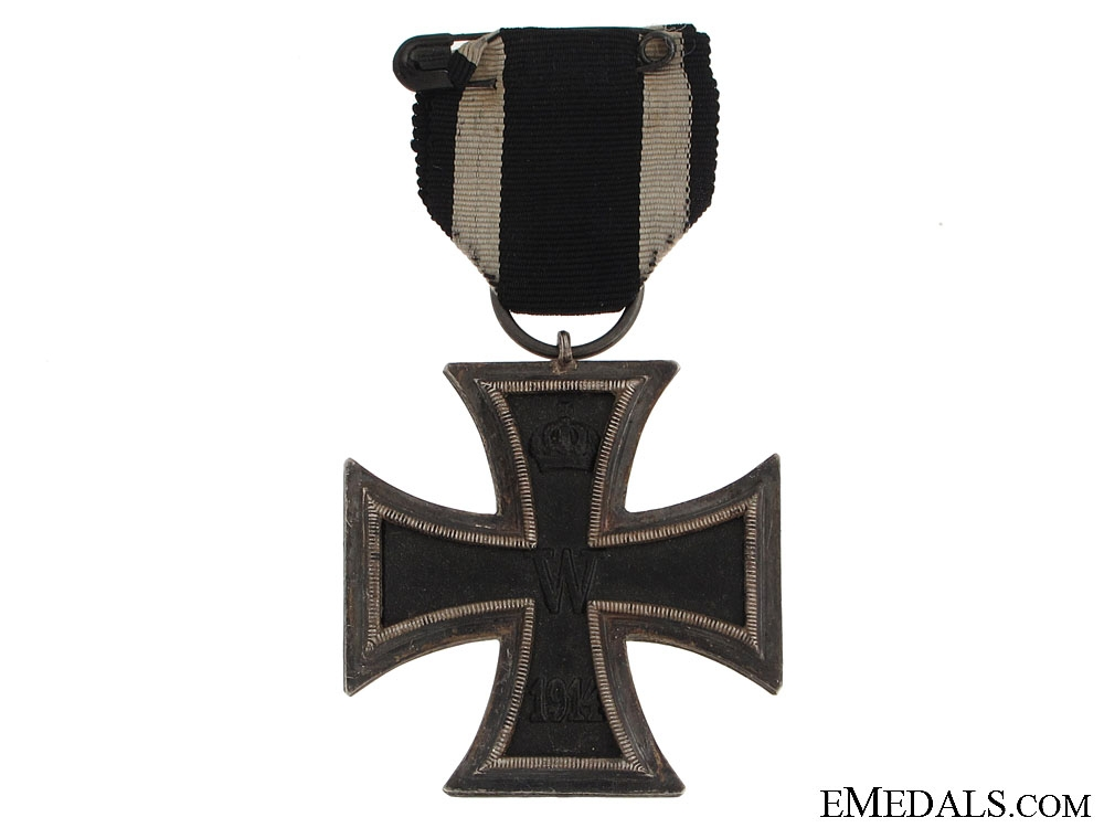 Iron Cross 2nd Class & 48th Division Document