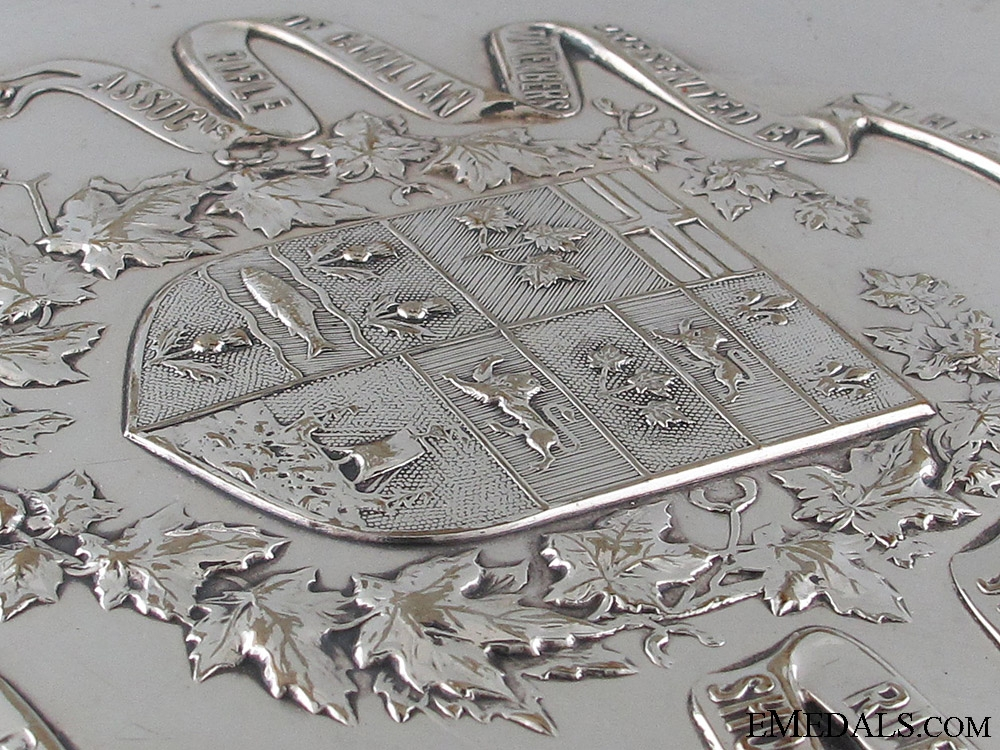 1912 Dominion of Canada Shooting Plate