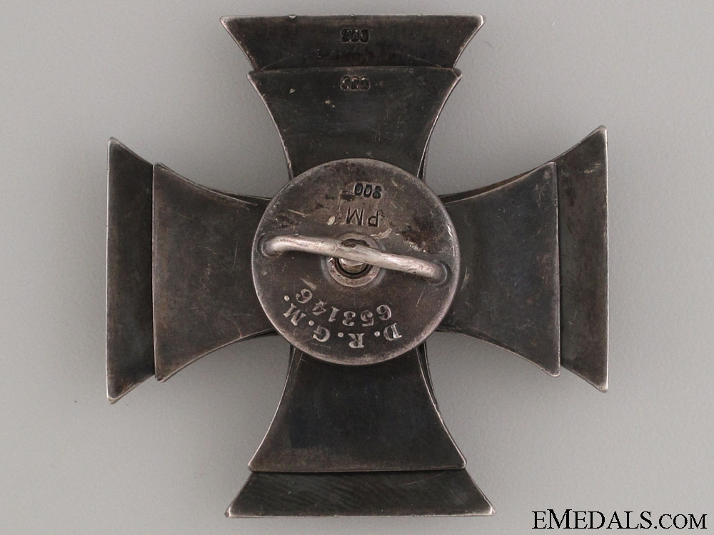 WWI Iron Cross 1st Class 1914 by D.R.G.M.