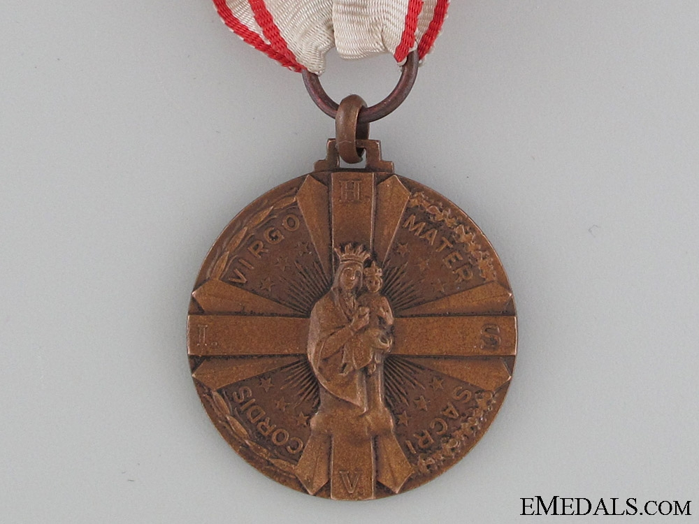 Rome Regiment in Africa and Spain Medal