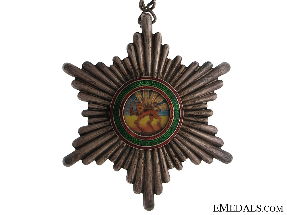 Order of Homayoun (Lion and Sun)