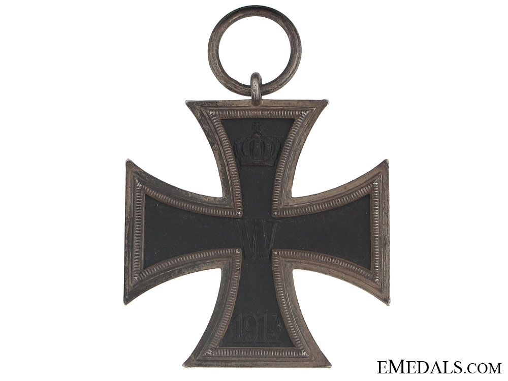 """Iron Cross 2nd. Cl. 1914 """"¢¤ marked 800 CD"""