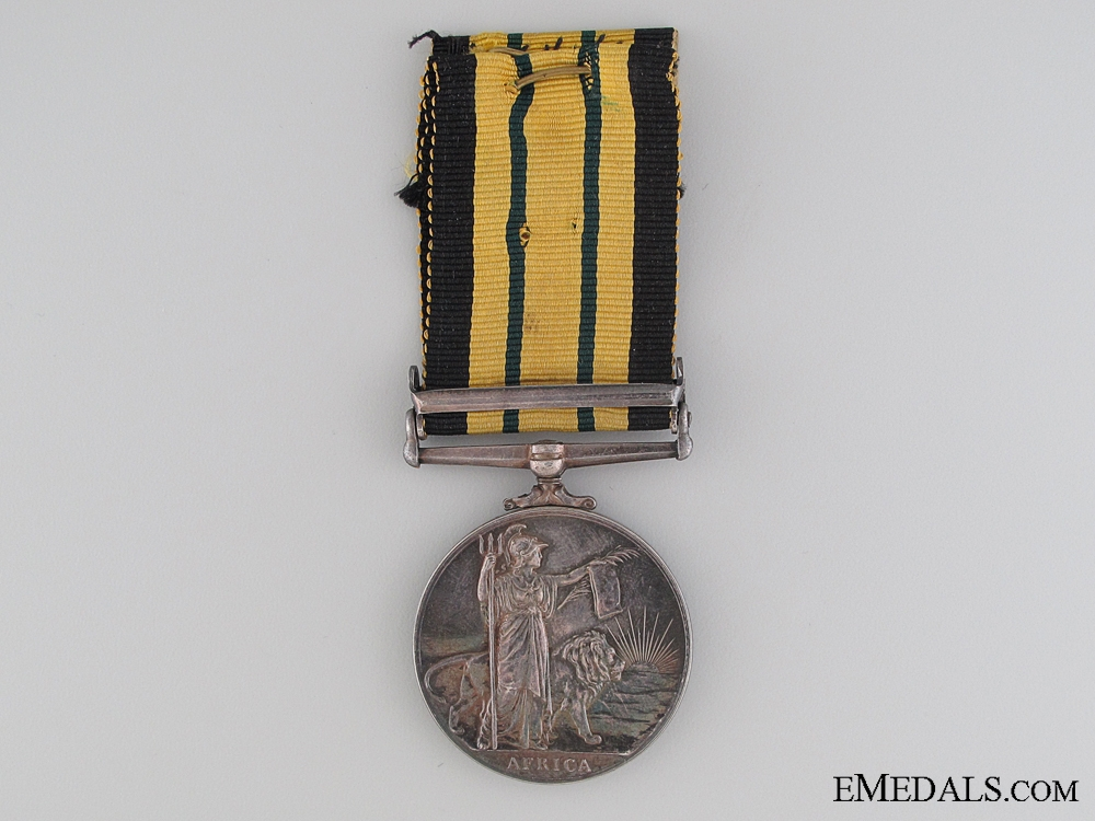 Africa General Service Medal to the Royal Air Force