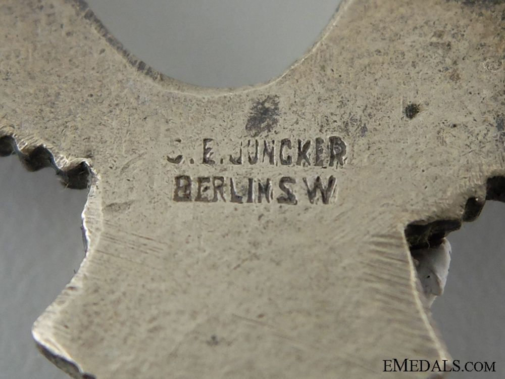 Pilots Badge; Tombac by Juncker