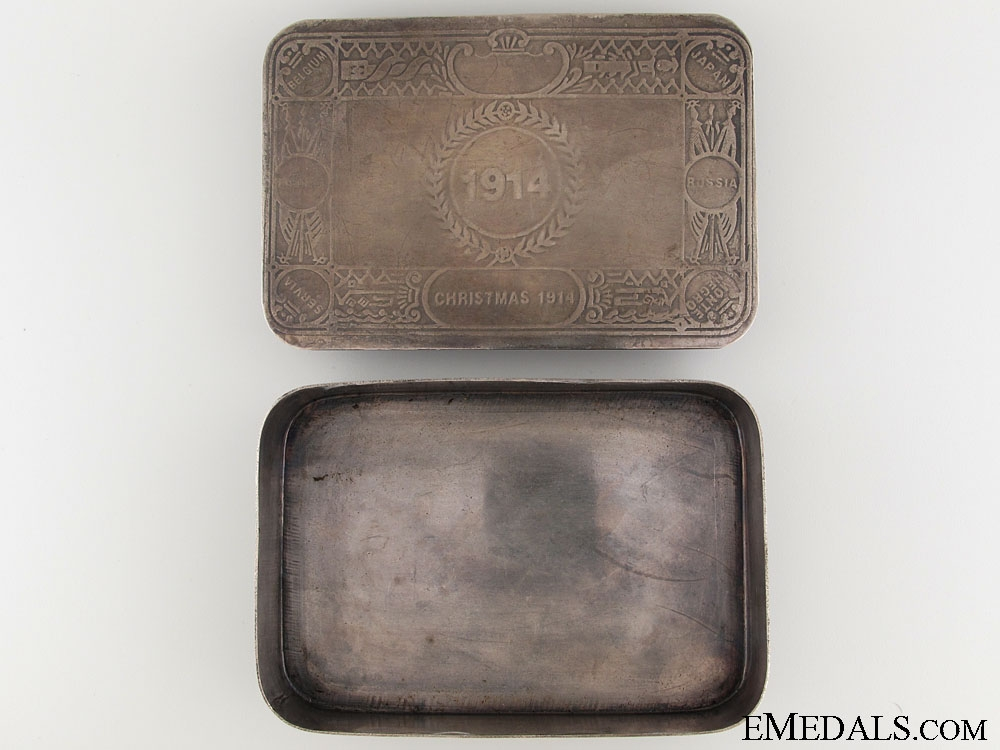 WWI Unofficial Princess Mary Tin - Type II