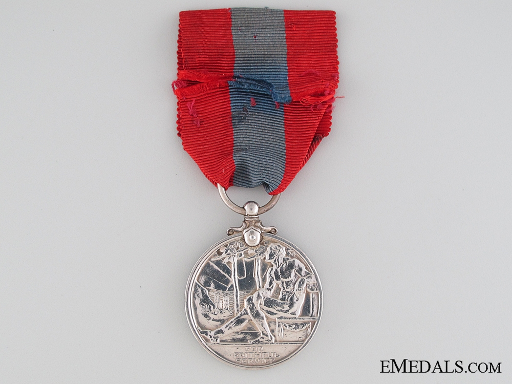 Imperial Service Medal to Railways and Canals