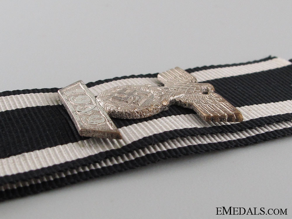 Clasp to the Iron Cross 2nd. Cl.1939- Reduced