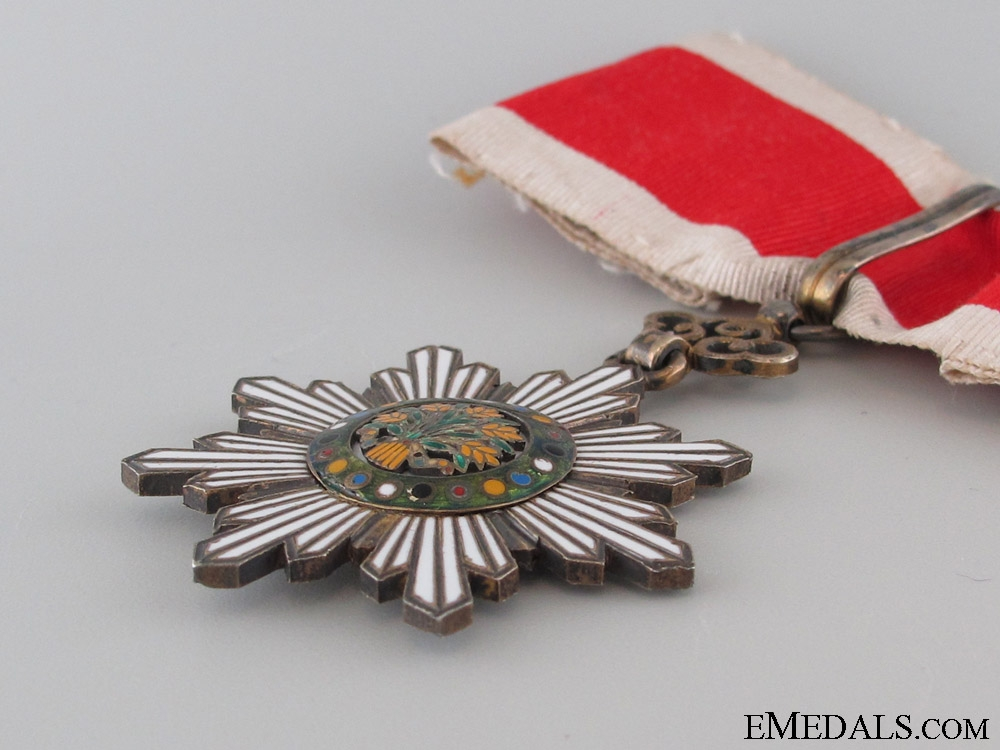 A French Made Order of the Golden Grain