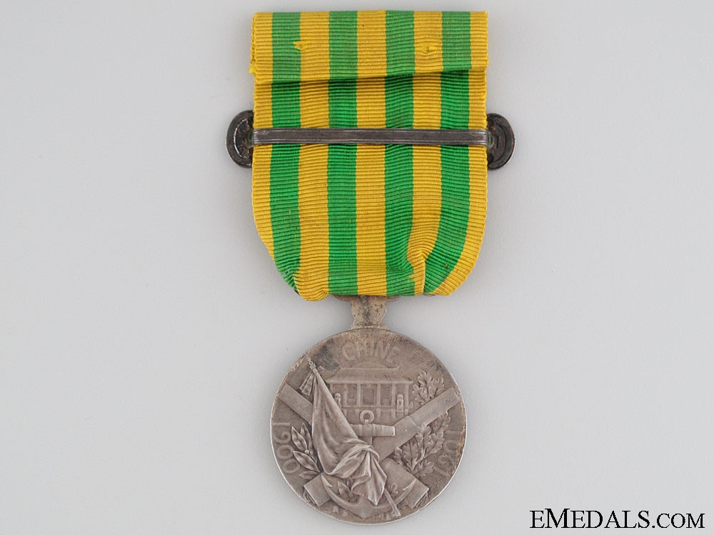 A French China Medal 1900-1901