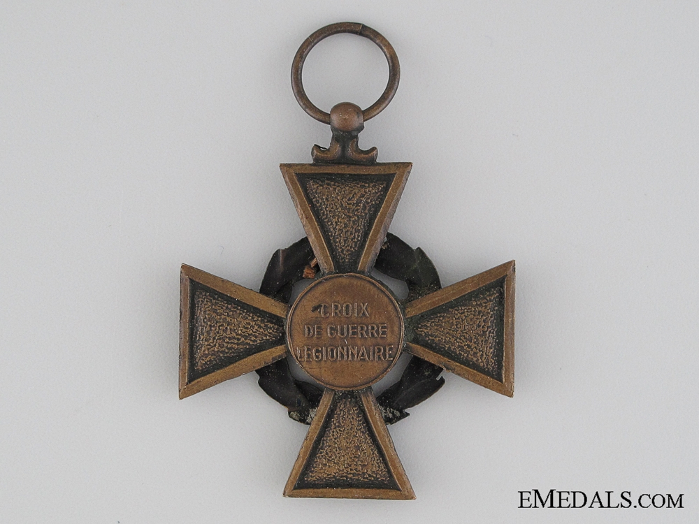 A Rare French Volunteer Legion War Cross for Russia