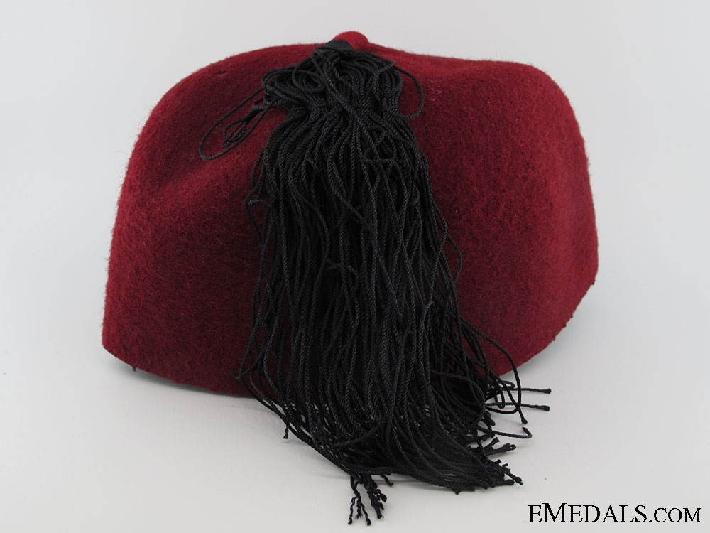 A Rare SS Fez of the 13th Handschar Division