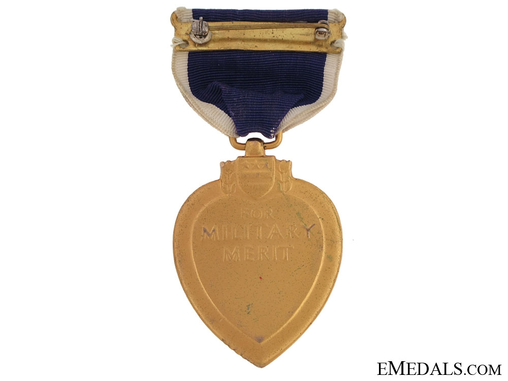 Second War Purple Heart - Numbered