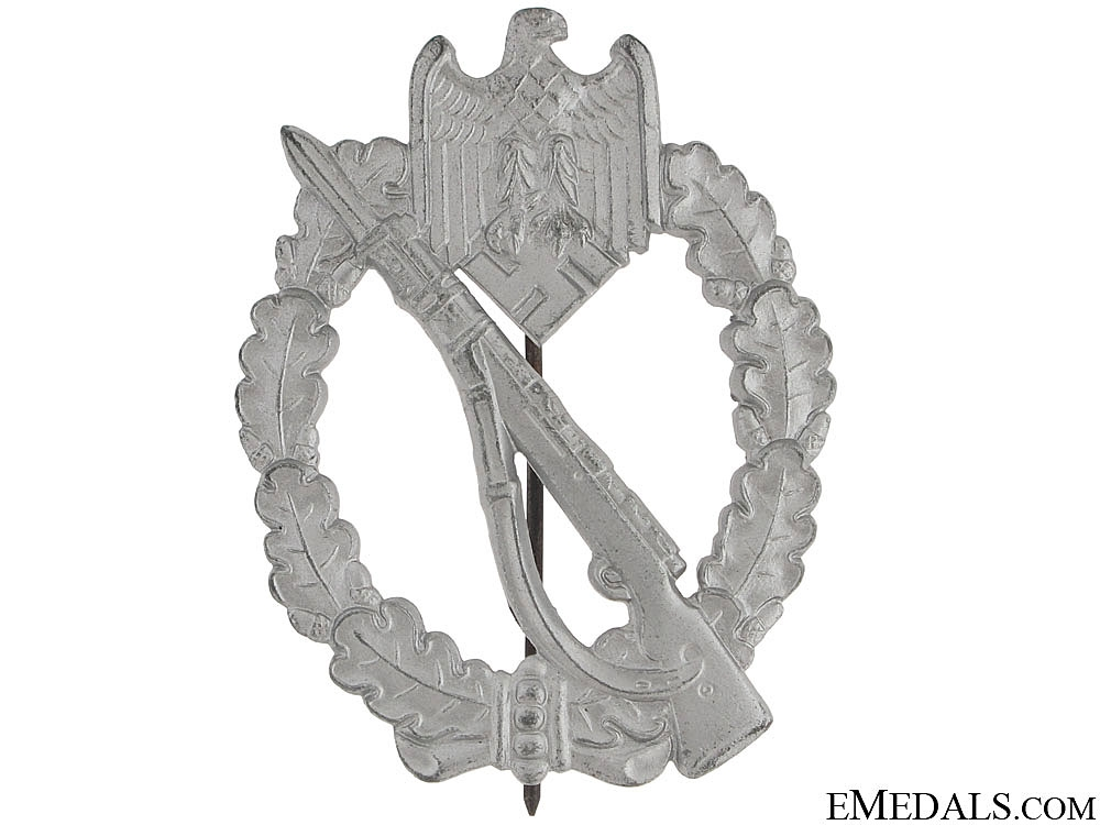 nfantry Badge – Silver Grade & Mint