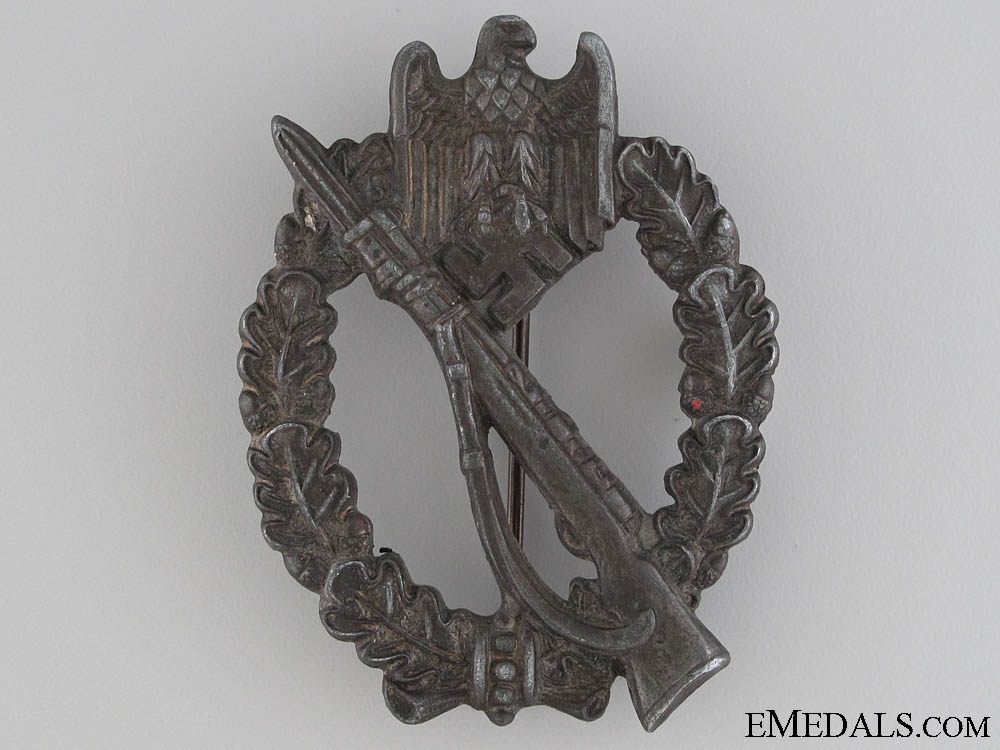 Infantry Badge - Silver Grade by R.S.  W1626