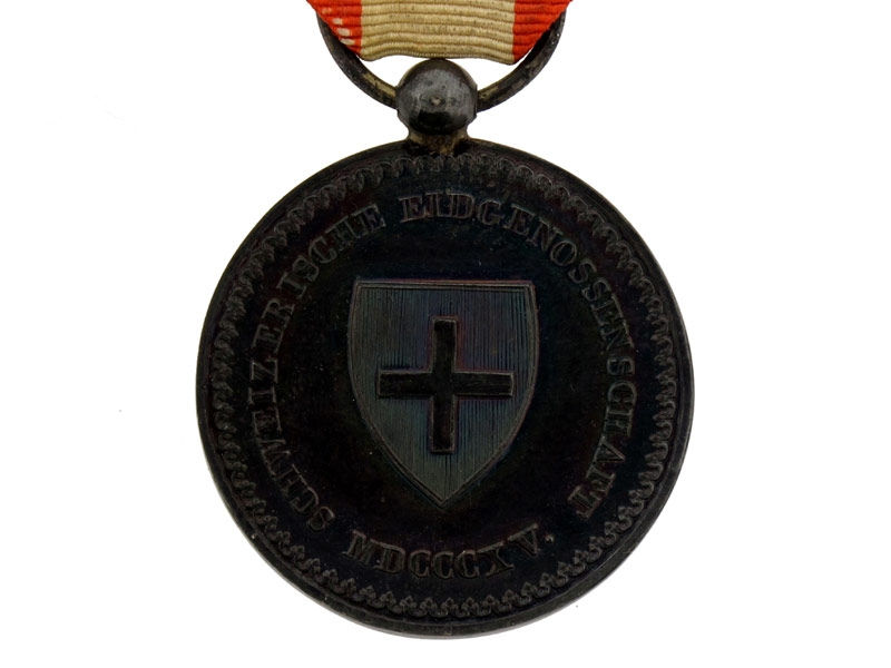 Switzerland, Medal of the Reunion 1815