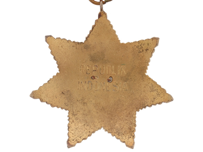 Indonesia. Star of the Republic of Indonesia