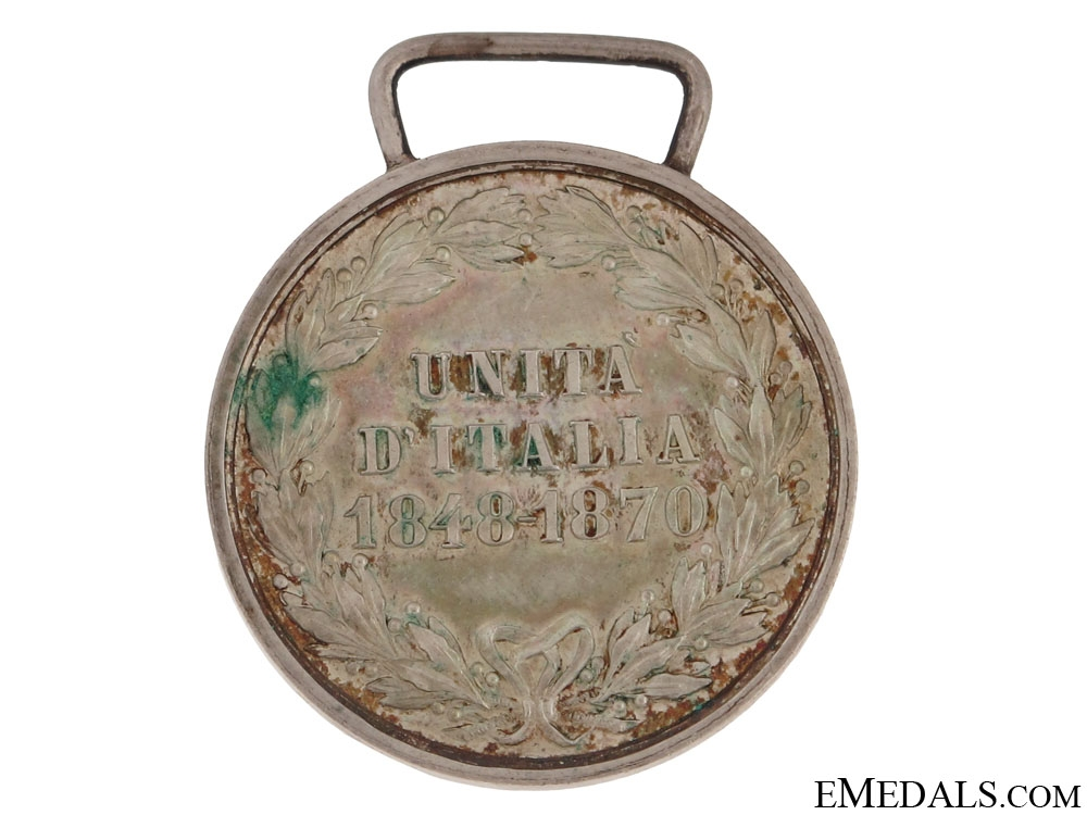 Medal for the Unification of Italy 1848-1870