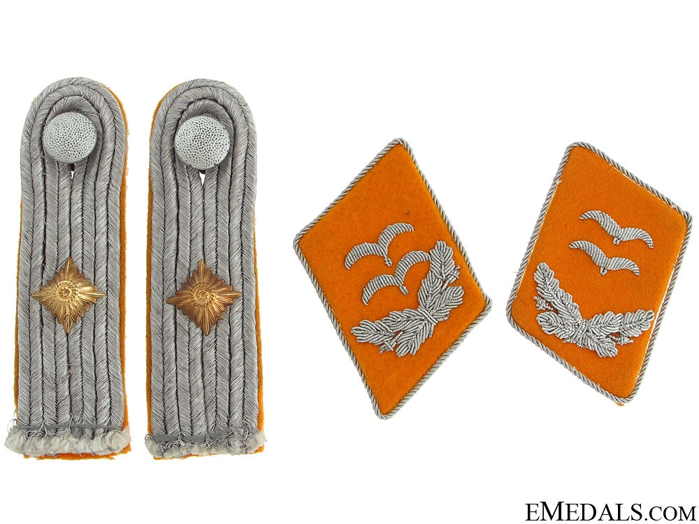 Luftwaffe 1st. Lieutenant Boards & Collar Tabs