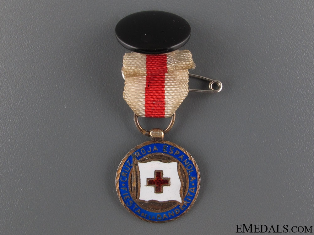 """Miniature Red Cross """"Feast of the Flag"""" Medal"""