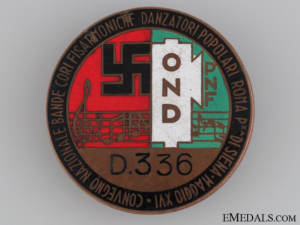 National Accordion Bands and Dancers Badge