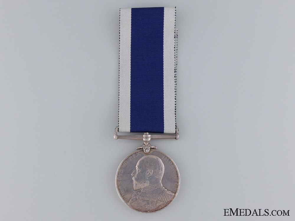 Naval Long Service & Good Conduct Medal to Royal Marines Light Inf.