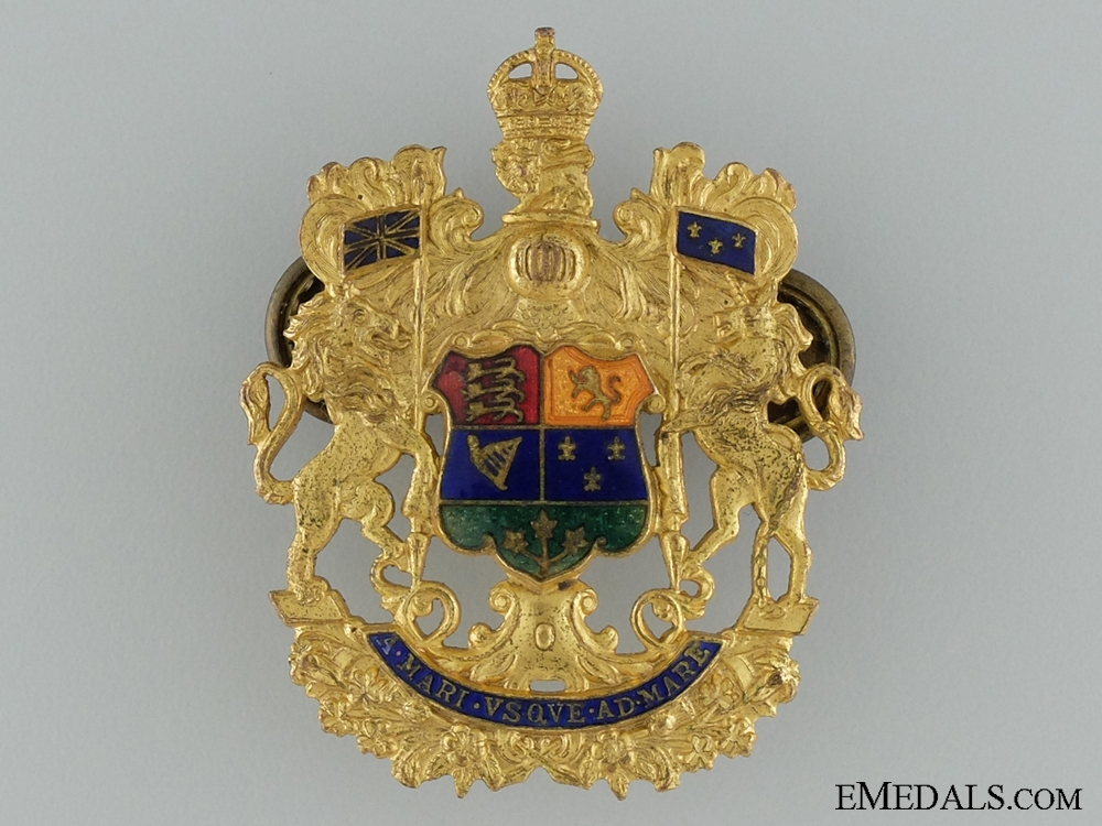 Officers of the General List Cap Badge