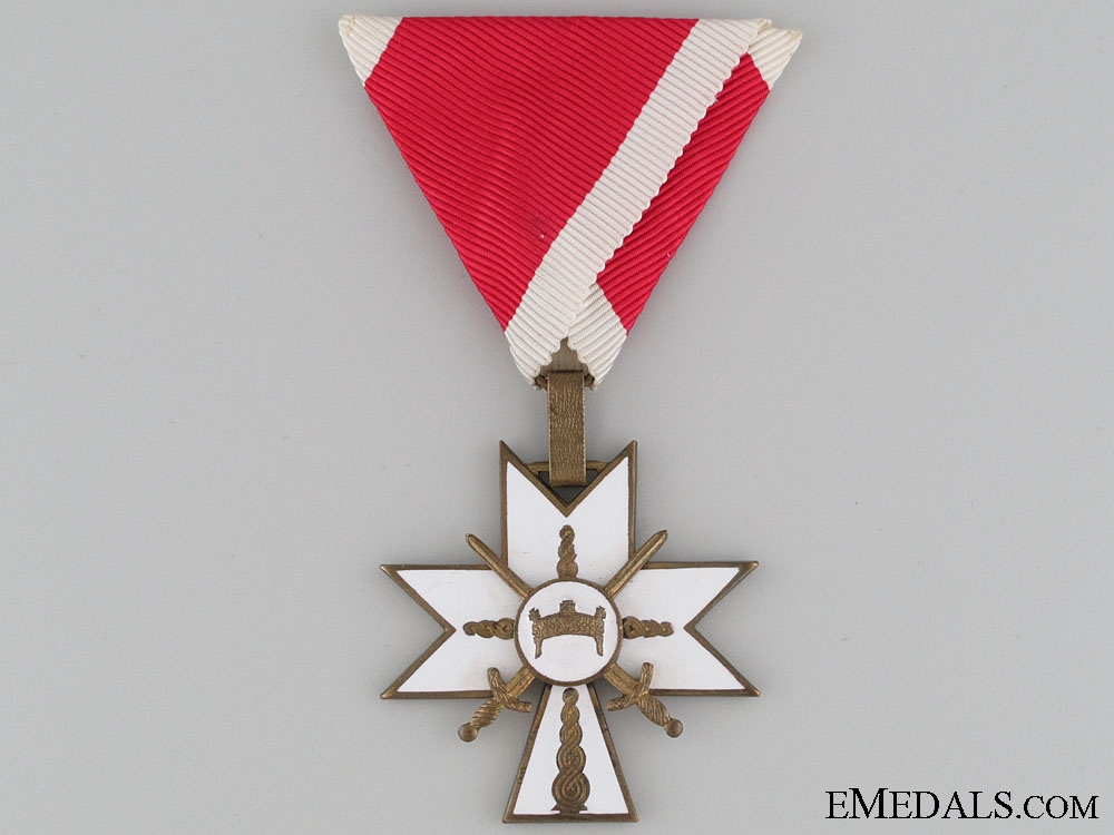 Order of King Zvonimir's Crown with Swords - Knight