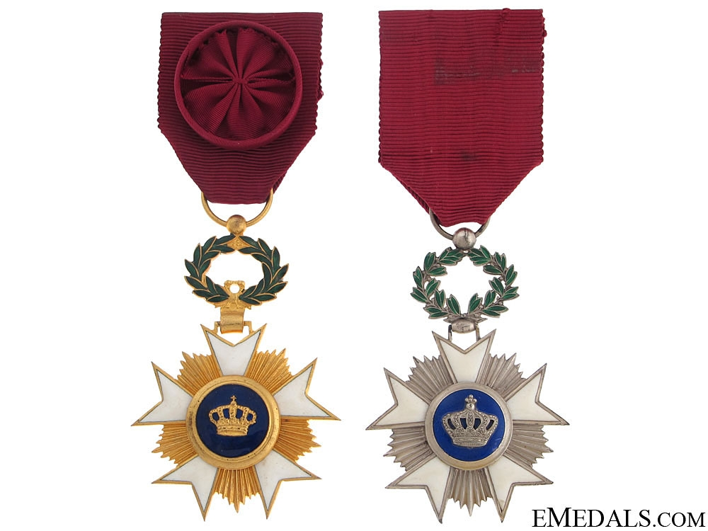 Order of the Crown – Officer & Knight
