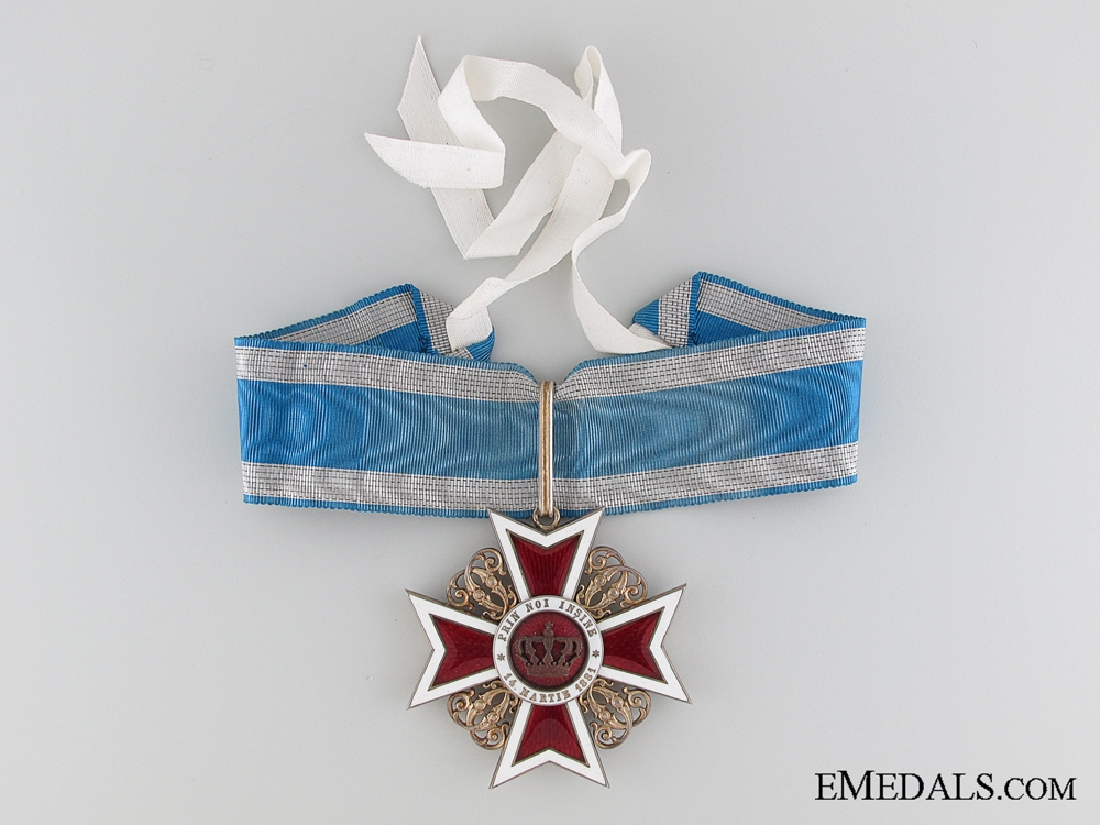 Order of the Crown of Romania 1881-1932