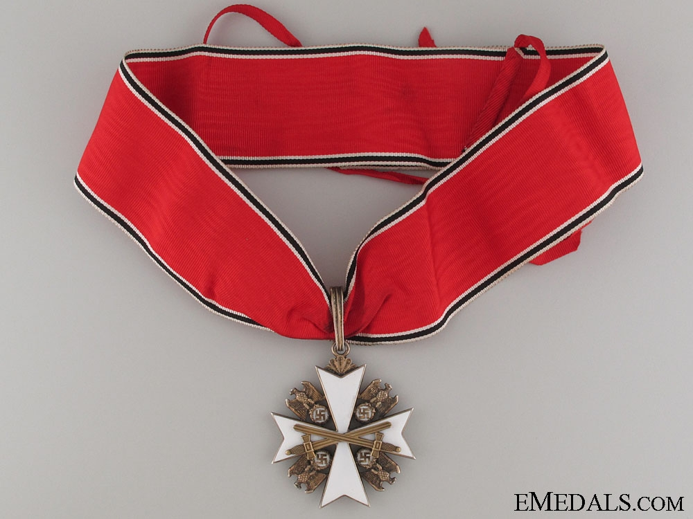Order of the German Eagle with Swords by Godet