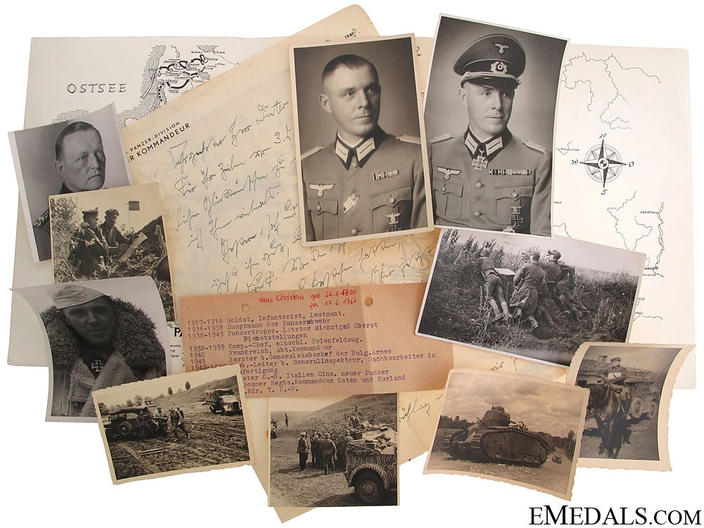 Period Photos of a General & KC Winners