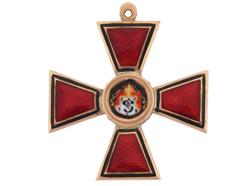 Order of St. Vladimir without Swords - 4th Class
