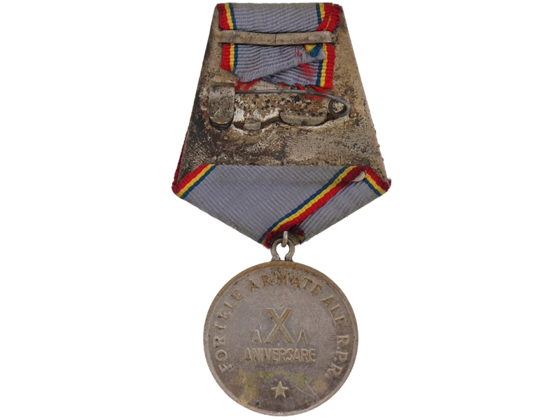 10th Anniversary Medal for the Armed Forces