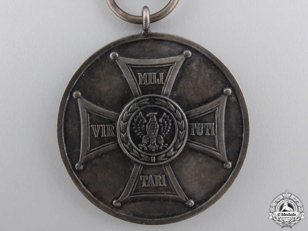A Polish Medal for Merit on the Field of Glory; Type II