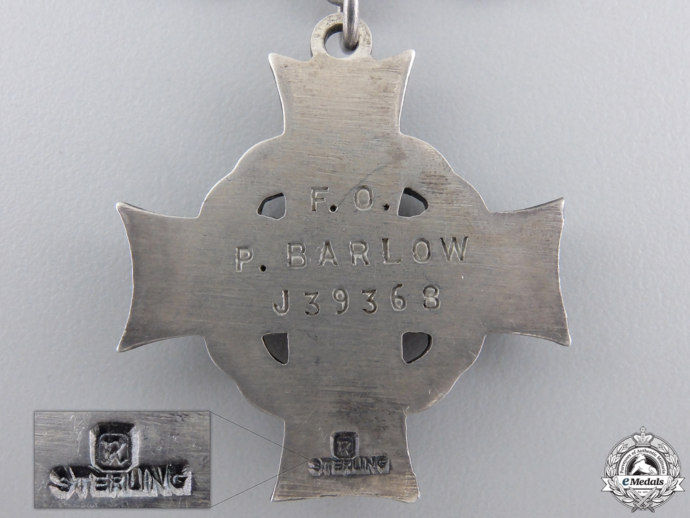 A Royal Canadian Air Force Memorial Cross; Downed by Flak near Degerndorf
