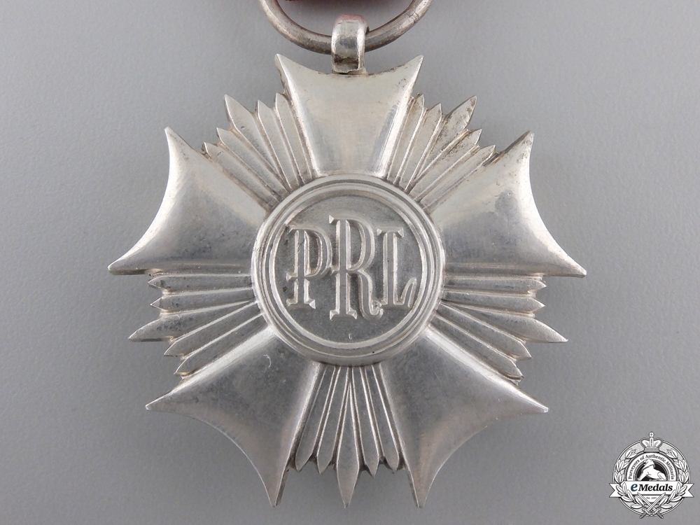 A Polish Order of the Standard of Labour; 2nd Class