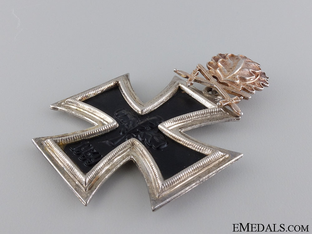 A 1957 Knight's Cross of the Iron Cross with Swords/Oakleaves