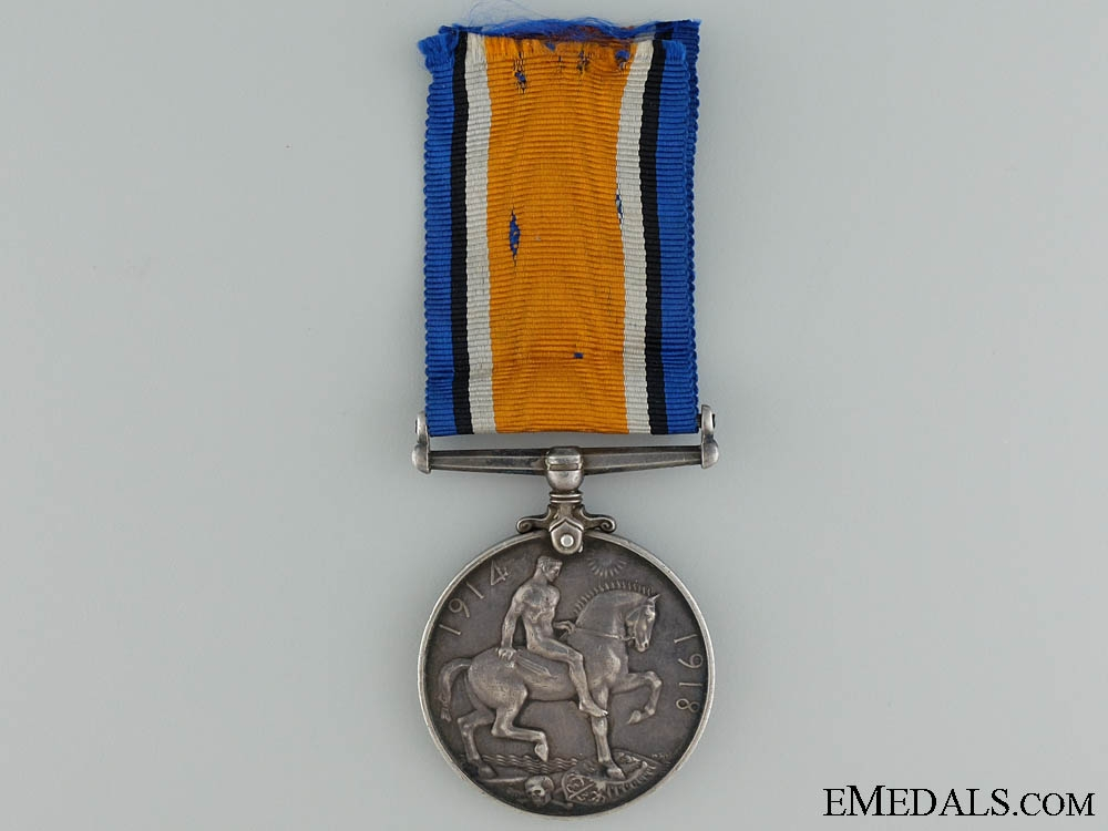 A British War Medal to the 69th Canadian Infantry CEF