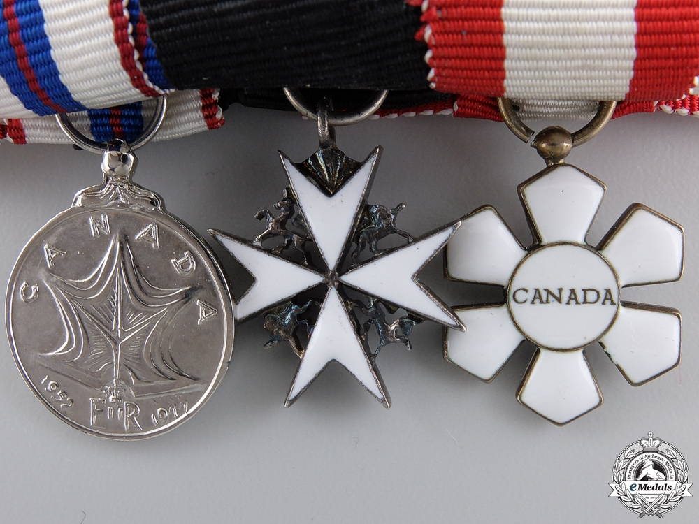 A Woman's Order of Canada Miniature Group