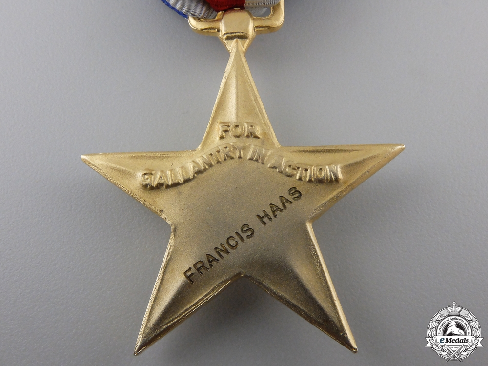 A WWII American Silver Star & MBE Group to the 17th Airborne