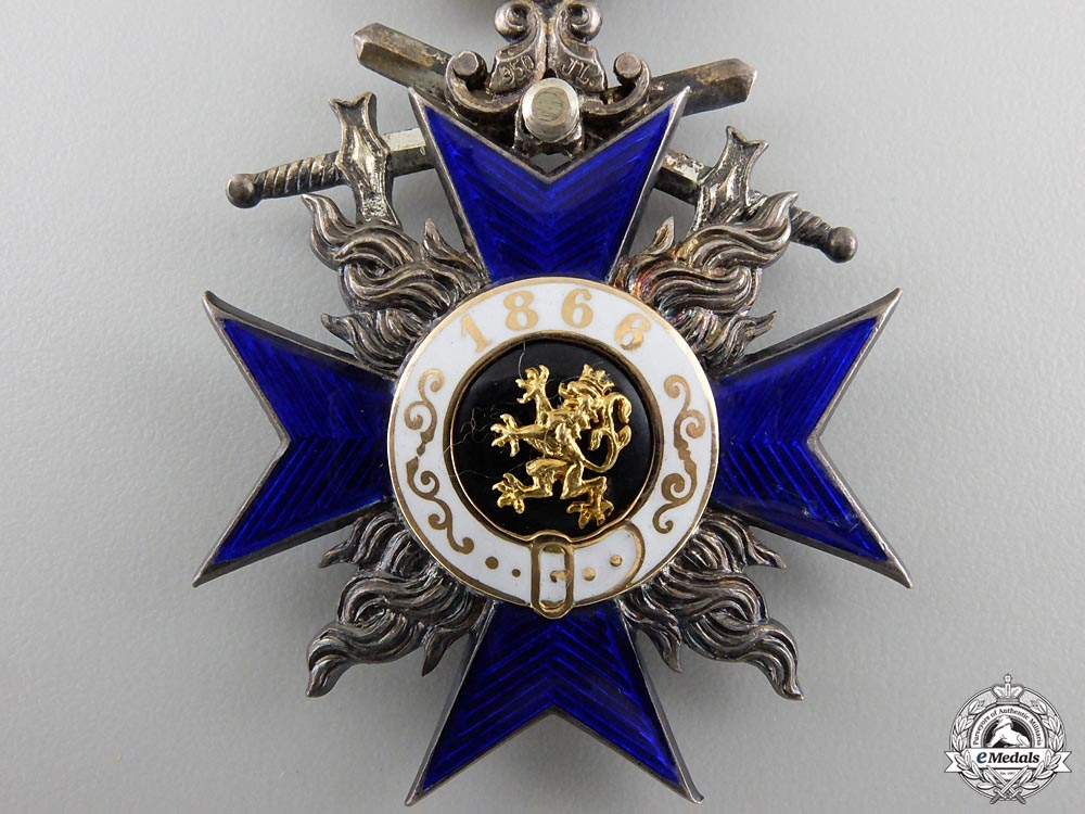 A Bavarian Order of Military Merit with Swords; 4th Class by J.L.