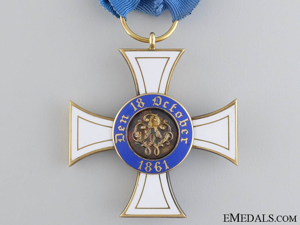 A Prussian Order of the Crown in Gold by Wagner