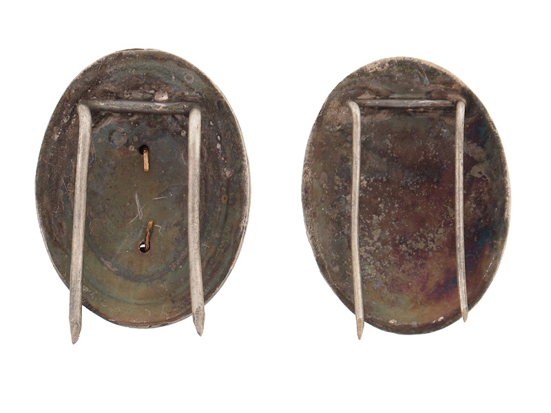 """Two Officer""""¢¯s Cap Badges"""