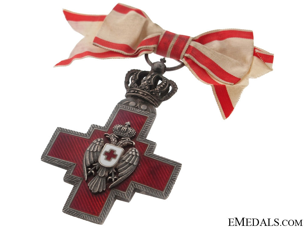 Cross of the Red Cross Society, 1882-194