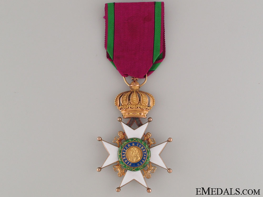 Saxe-Ernestine House Order - 1st Class in Gold