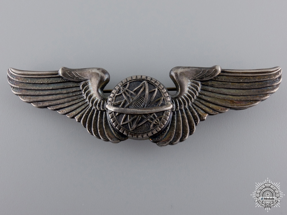 Second War American Army Air Force Navigator Wings