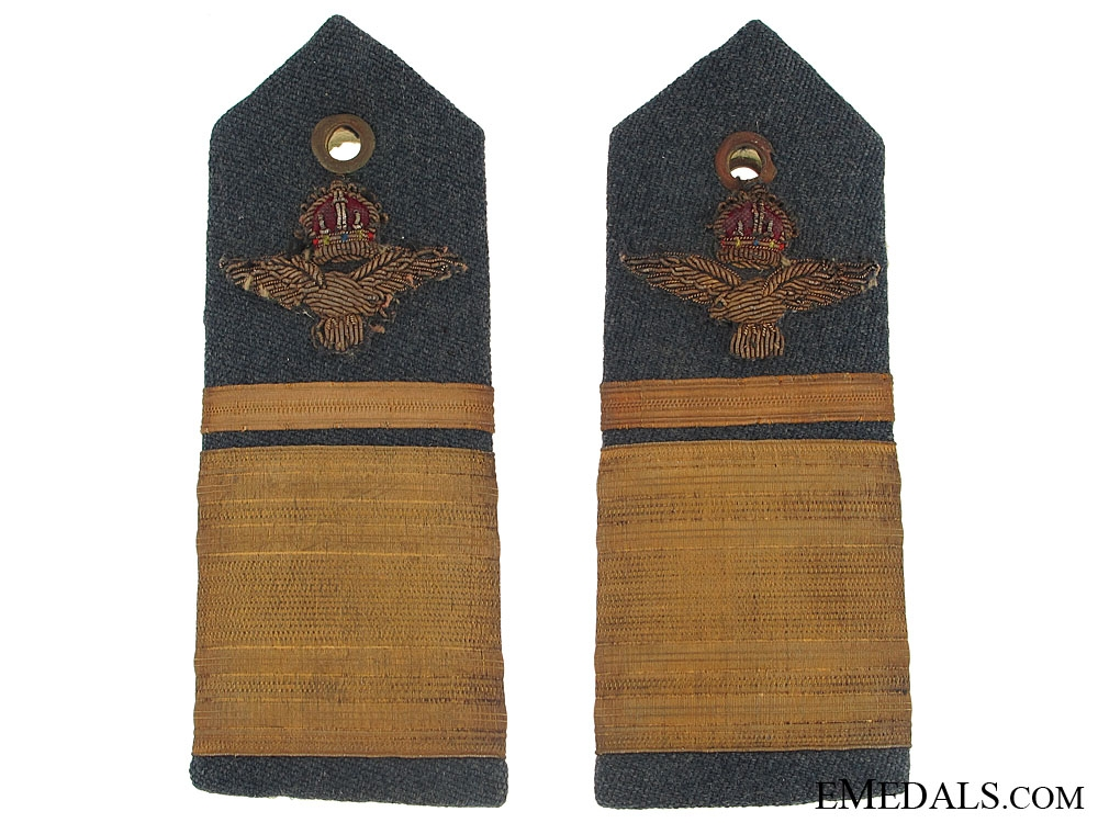 Second War RAF Air Vice Marshal Epaulettes
