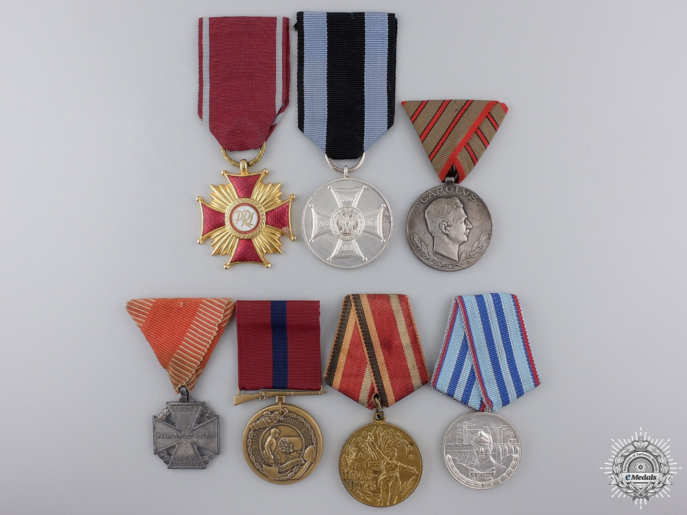 Seven International Medals, Orders, and Awards