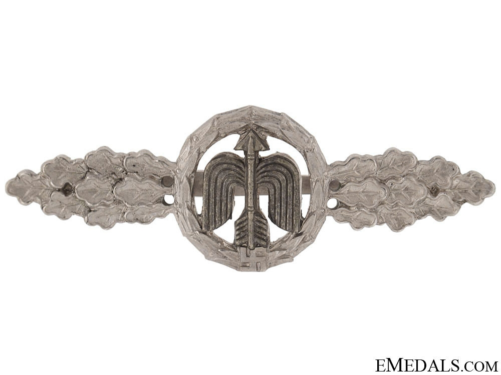 Short Range Day Fighter Clasp - Silver