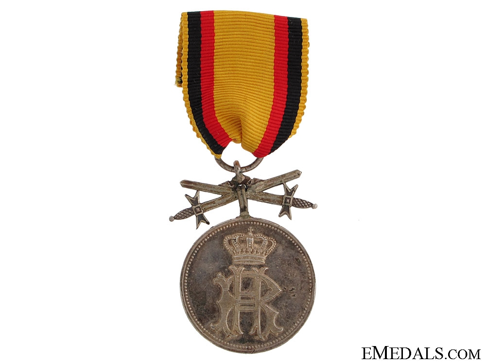 Silver Merit Medal with Swords 1909-1918